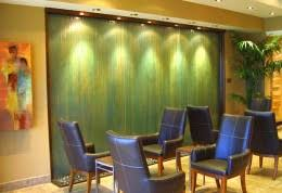 office water features. Custom Wall To Floor Water Feature For An Office Features D