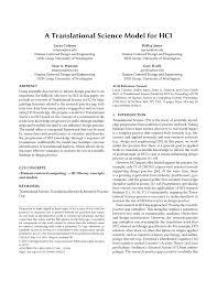 Gary Harvey Designer Facts Pdf A Translational Science Model For Hci