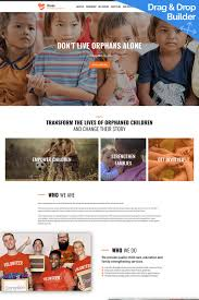 3 Template Haven Orphanage Organization Moto Cms 3 Template