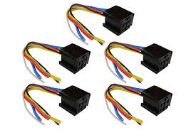 5 lot temco 12 v 60 70 80 amp bosch style s relay harness socket temco id cn0233 5x cn0174 quantity 5 for use bosch style relays contact rating up to 60 70 80 a 14 vdc coil voltage 6 24 vdc wire