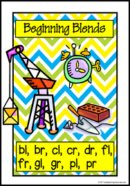 Beginning Blends Picture Charts Set 1