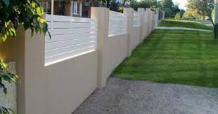Small Picture brick and timber fence Google Search Fence ideas Pinterest