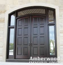 double entry doors with sidelights. Check Out This Gorgeous #Amberwood Custom Mahogany Double Entry #door System With 2 Glass Doors Sidelights