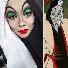 hijab mulher se transforma em princesas da disney mais disney character makeup