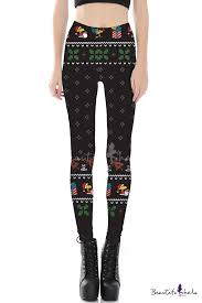 New <b>Stylish</b> 3D <b>Christmas</b> Theme Print <b>Elastic Waist</b> Leggings ...