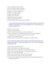 Careers Interview Questions 46 Gulf Jobs Interview Questions Any Interviewer Would Ask You Www