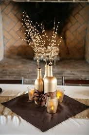 8 Diy Ideas Of Wine Bottles Wedding Centerpiece WeddCeremony Com