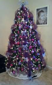purple christmas tree 9