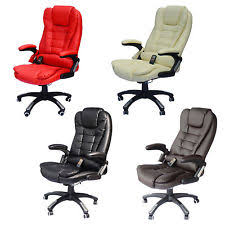 chair ebay. home office computer desk massage chair executive ergonomic heated vibrating ebay