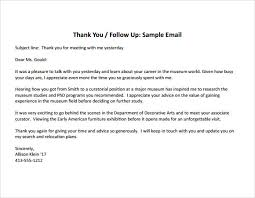 Gallery Of Sample Thank You Note After Interview 7 Documents In Pdf