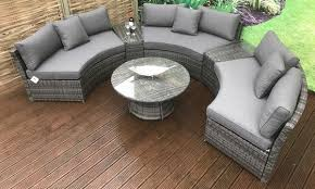 juliet garden corner sofa set groupon