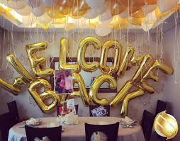 Small Picture 10 best Welcome Back Welcome Home Party Decoration Ideas images