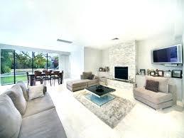 white tile floor living room plain porcelain