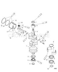Crankshaft piston connecting rod