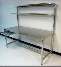 table with shelves. rdm stainless steel table with upper shelf model f103p ss shelves e