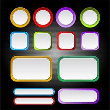 colour border frame free vector