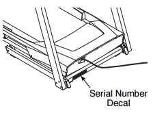 Check your shipping confirmation to find it may be a good idea to jot down your tracking number on a separate piece of paper in case you lose the original email confirmation. Where Is The Serial Number On My Nordictrack Treadmill