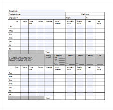 Biweekly Payroll Timesheet Template Sample Biweekly Timesheet Calculator 9 Documents In Word