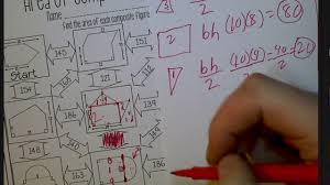 composite figure maze worksheet matthew wilson