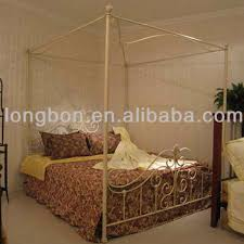 Top-selling hand forging wrought iron canopy bed, View wrought iron canopy bed, LONGBON Product Details from Foshan Longbang Metal Products Co., Ltd. ...