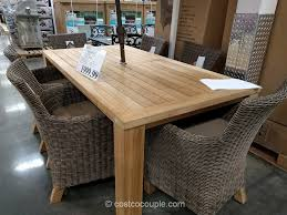 kitchen 900x900 outstanding teak outdoor dining table 26 broyhill