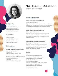 Creative Resume Adorable Free Resume Templates Download ReadyMade Templatenet