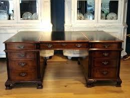 office desk large. Modren Large Large Executive Office Desk Mahogany Size Of Wood  Computer   Inside Office Desk Large