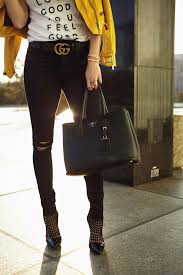 gucci laura lily fashion travel and lifestyle blog zara faux suede biker jacket yellow gucci