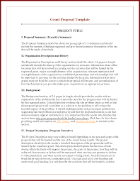 proposal sample for project sendletters info project proposal template