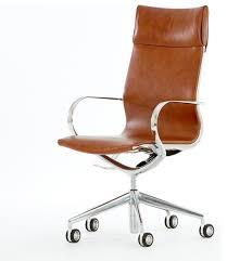 leather office chair modern. Mercury High Back Leather Office Chair Modern Armless Brown Desk E