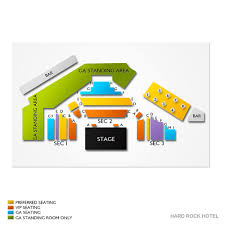 Vinyl At Hard Rock Hotel Seating Chart Vinyl Hard Rock Seating Chart Www Bedowntowndaytona Com