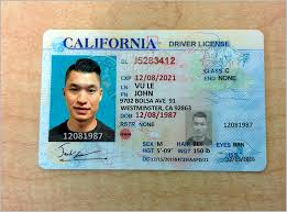 License 10 Drivers Templates Template California Id