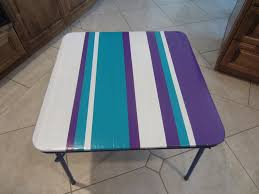 Duct tape furniture Doll The Beauty Of It Crayon Wipes Off Duct Tape Diy Inspired Upcycled Duct Tape Play Table Diy Inspired