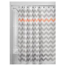 gray and orange shower curtain. gray and orange shower curtain