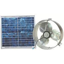 ventamatic 433 cfm solar powered gable mount power attic ventilator
