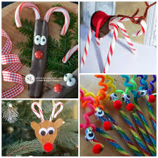 Candy Cane Reindeer Craft U0026 Gift Ideas  Crafty MorningChristmas Crafts Using Candy Canes