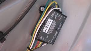 escape city com • view topic tow ready wiring harness a reese adapter part number 119130 this module convert the amber flasher and mix it togheter to have a single wire for brake flasher on the trailer