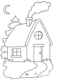 Unico Casa Sole Disegno Da Colorare Migliori Pagine Da Colorare E