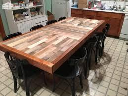 Stunning Pallet Dining Table Pallet Desks & Pallet Tables