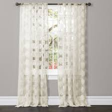 project ideas ivory sheer curtains arlene window curtain