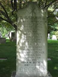 Anna Maria Griffith Becker (1886-1966) - Find A Grave Memorial