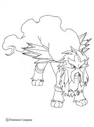 Small Picture Entei coloring pages Hellokidscom