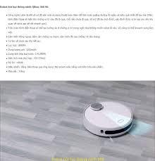 Máy robot hút bụi lau nhà Qihoo 360 S6 Vacuum cleaner bản quốc tế - Bảo hành