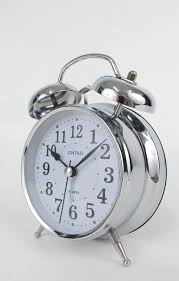 Twin Bell Analogue Alarm Clock Vintage ...