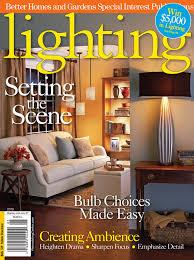 kichler lighting in lighting magazine better homes and gardens lighting