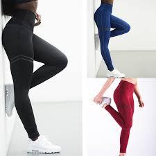 High Elastic Fitness Sport <b>Leggings</b> Tights Slim Running Sportswear ...