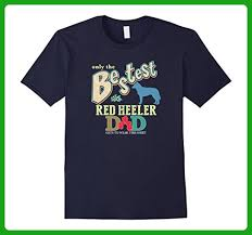 mens bestest red heeler dad best australian cattle dog shirt xl navy relatives and family