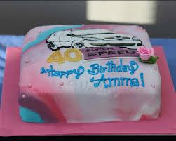 40th birthday cake 3