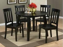 espresso round dining table set simplicity espresso round table