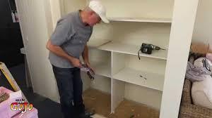 full size of lighting nice how to build closet shelves 3 maxresdefault how to build closet